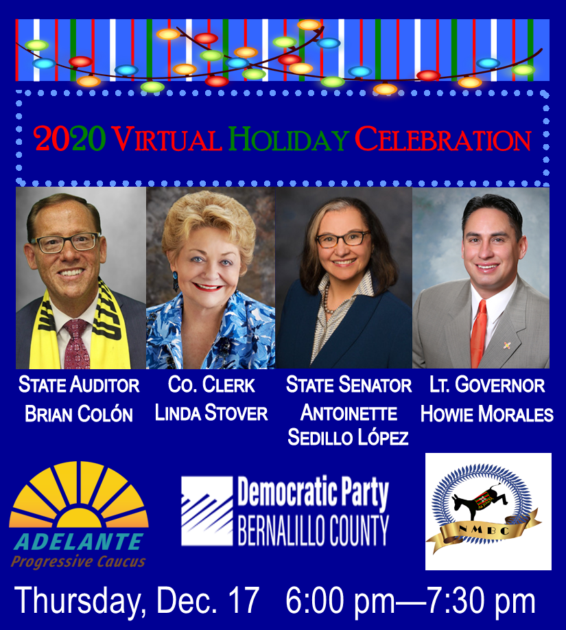 2020 Democratic Party of Bernalillo County Holiday Party